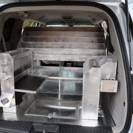 Aluminum Shelving Unit